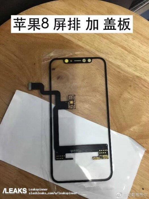 OLED iPhone 8 kijelző alkatrész