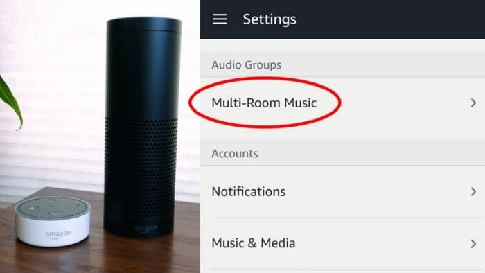 Amazon Echo multi-room
