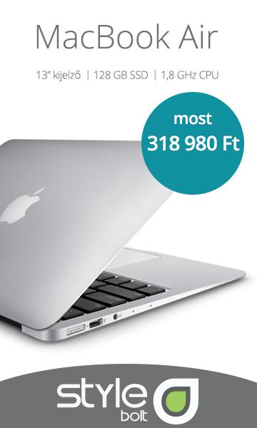 MacBook Air akció - Stylebolt