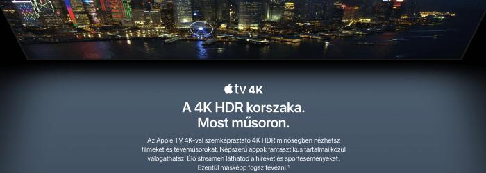 Apple TV 4K – árak, megjelenés, technikai adatok