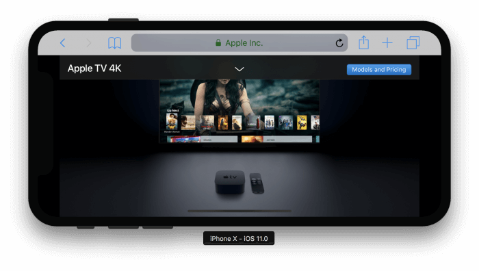 Apple TV 4K aloldal