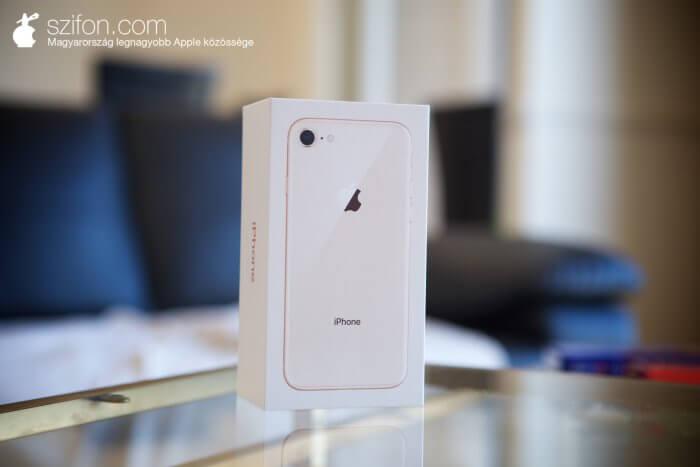 iPhone 8 arany teszt, vélemény
