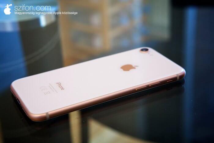 iPhone 8 arany színű – teszt, vélemény