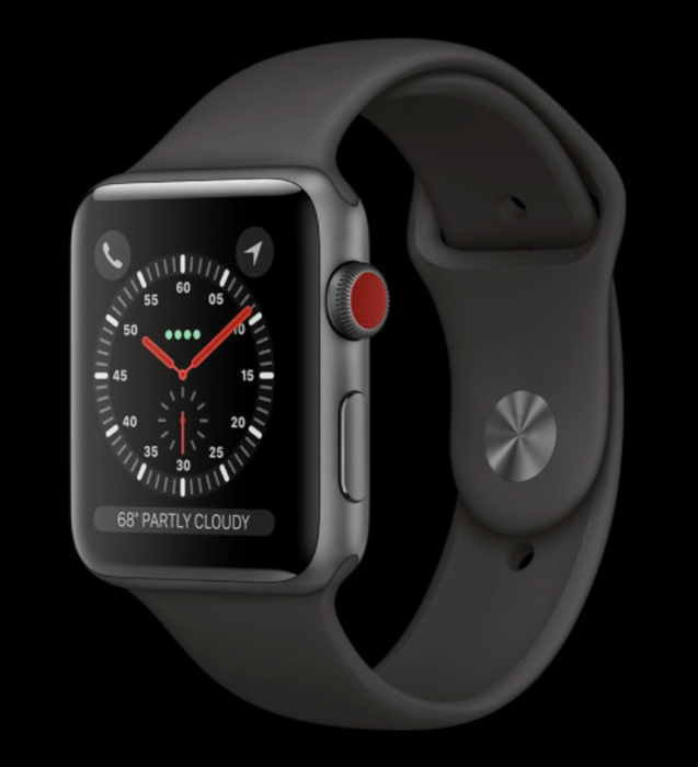 Apple Watch Series 3 LTE komplikációk