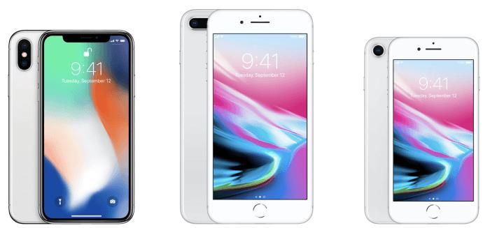iPhone X és iPhone 8, 8 Plus méretek