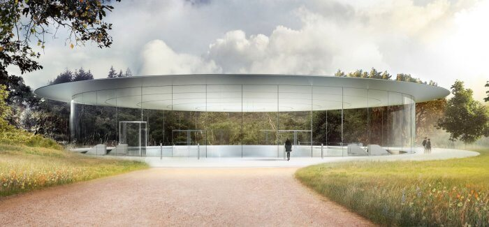 Steve Jobs Theater - iPhone 8 bemutató terme