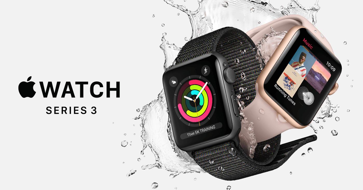 Az Apple bemutatta az LTE Apple Watch Series 3-at – árak, megjelenés, technikai adatok
