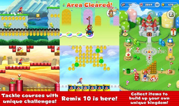 Super Mario Run frissítés képernyőfotó