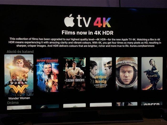 4K iTunes Movies