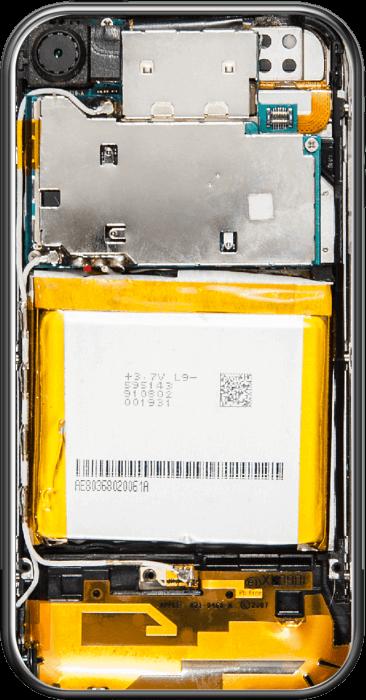 iPhone 2G hardverfelépítése