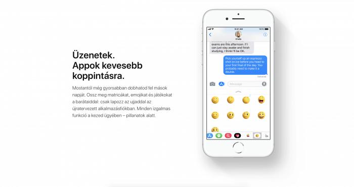 Hogyan tüntethető el az iMessage-ben lévő alkalmazás sáv