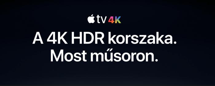 4K HDR Apple TV – egy új korszak