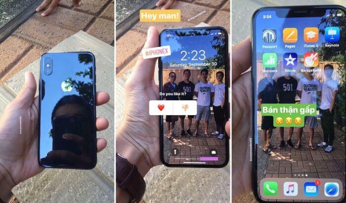 iPhone X fotók