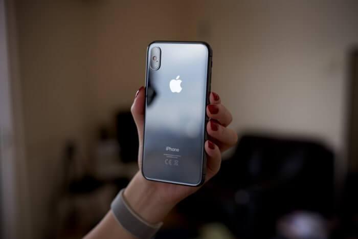 iPhone X üveghátlap