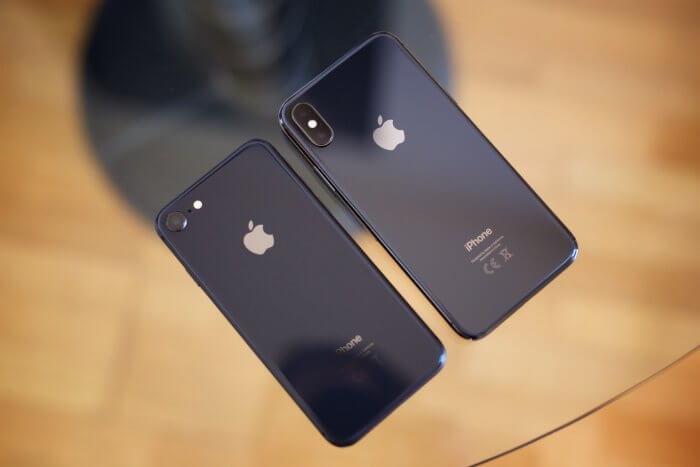iPhone 8 és iPhone X