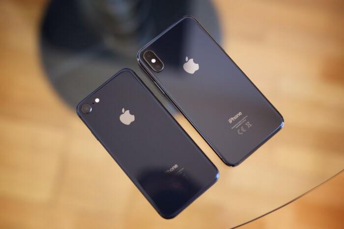 iPhone 8 és iPhone X