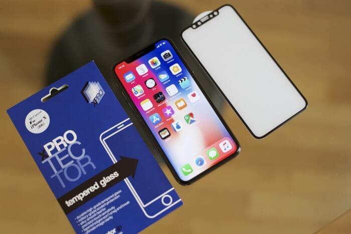 XPRO iPhone X 3D-s üvegfólia