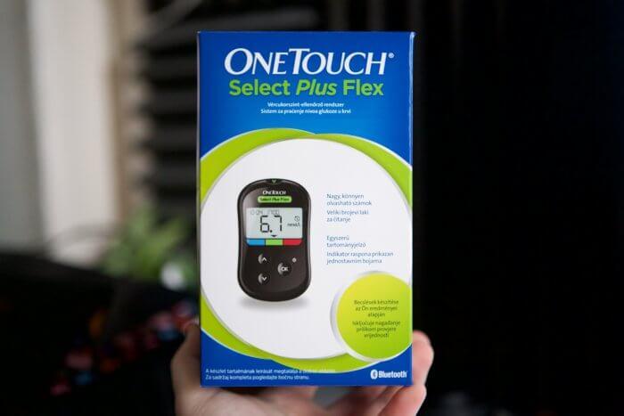 OneTouch okos vércukorszintmérő iPhone-hoz