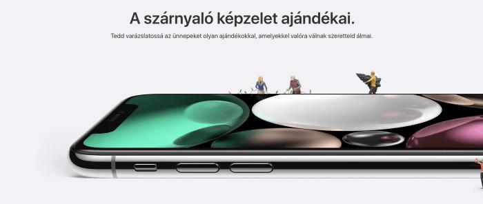 Ünnepi ajánlatok az Apple-től