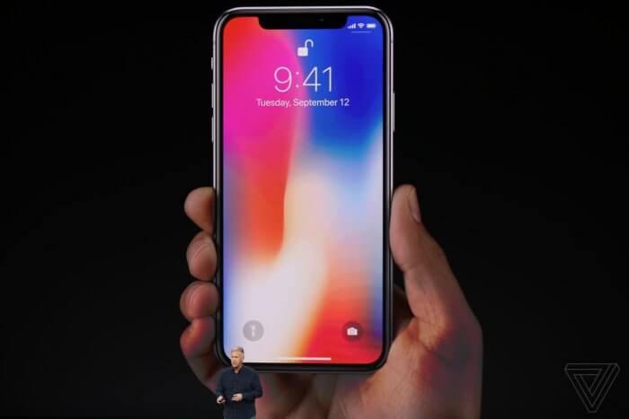 iPhone X megjelenés