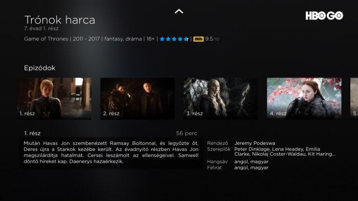 HBO GO sorozat adatlap