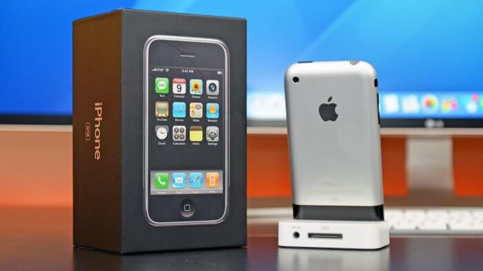 iPhone 2G és az iPhone X összehasonlítása