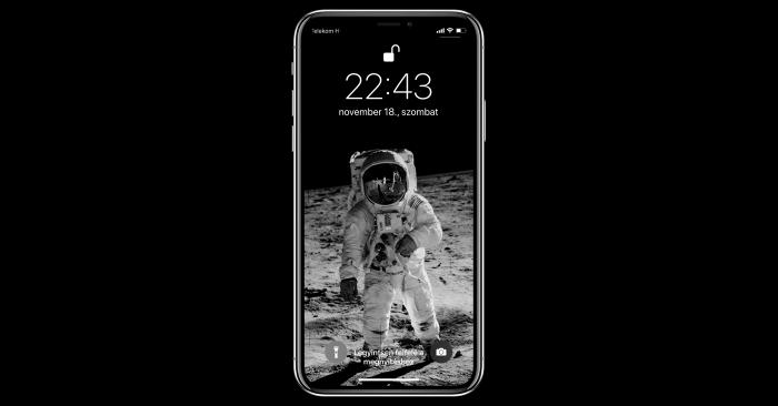 iPhone X Notchy háttérkép alkalmazás
