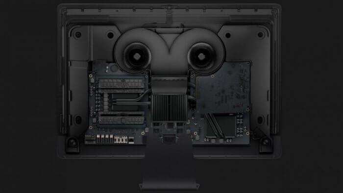 Az Apple T2 az iMac Pro-ban