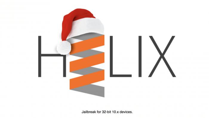 A h3lix jailbreak logója – borítókép