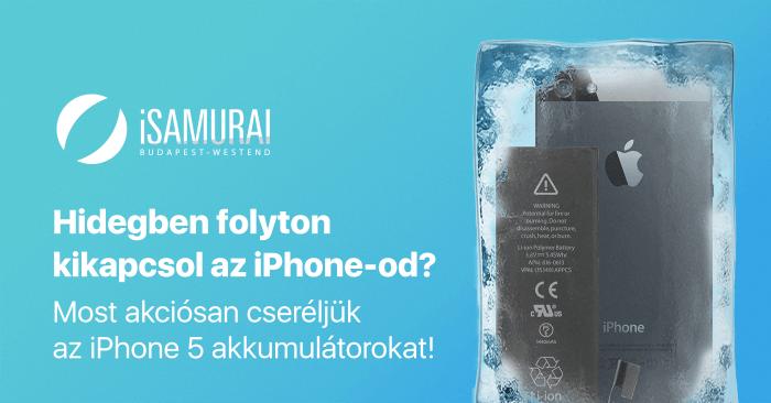 Kikapcsol hidegben az iPhone-od?