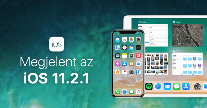 Megjelent az iOS 11.2.1 – borítókép