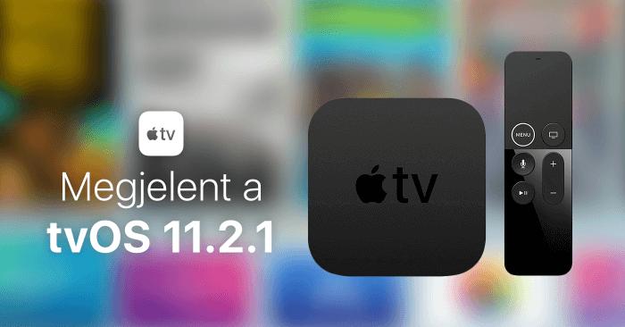 Megjelent a tvOS 11.2.1 - borítókép