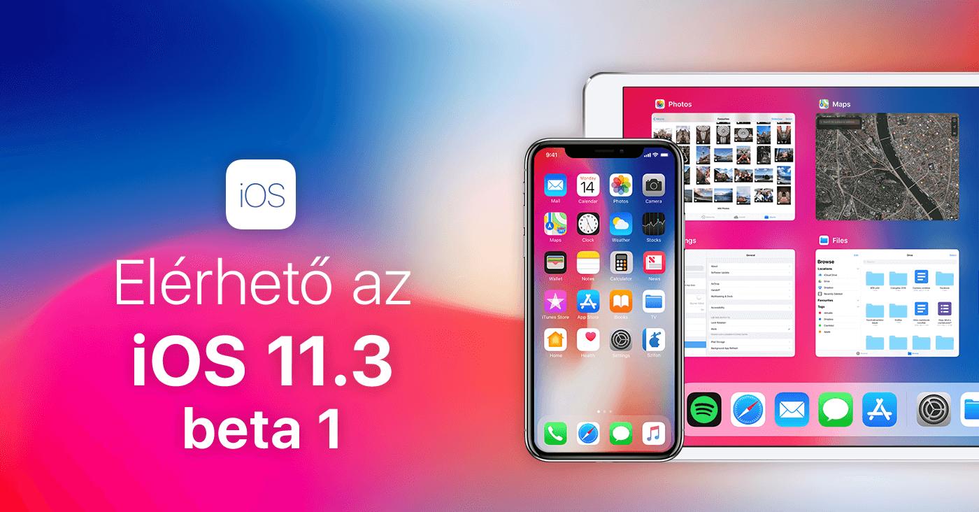 Elérhető az iOS 11 3 első bétája – ARKit 1 5, négy új