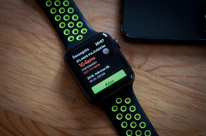 Mit is jelent a megnyugvási pulzus az Apple Watch-on?
