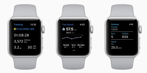 Apple Watch Snow sport API