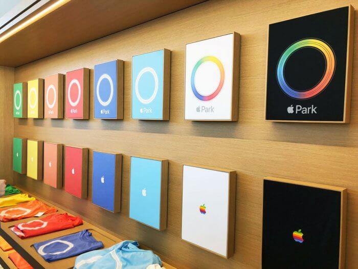 Apple Park póló kínálat