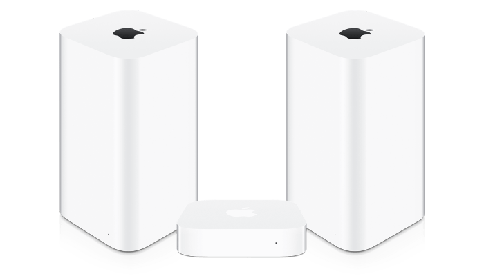 Apple Airport Express, Extreme, Time Capsule
