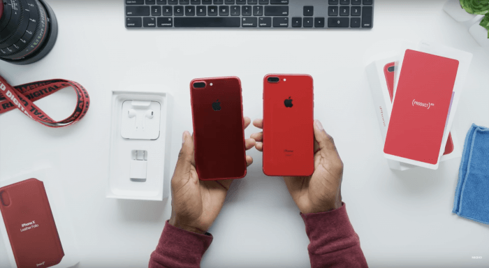 (PRODUCT)RED iPhone 8, 8 Plus