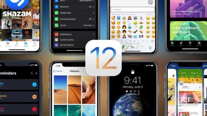 iOS 12 koncepcio