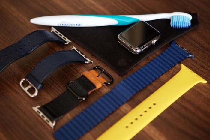 Apple Watch és a szíjak tisztítása