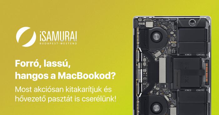 iSamurai – Forró, lassú, hangos a MacBookod?