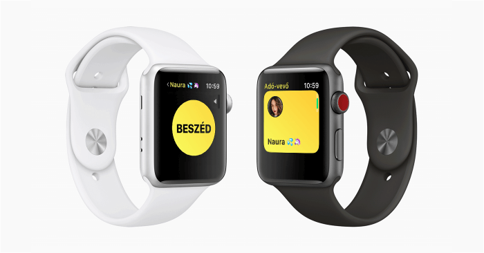 Apple Watch Adó-Vevő funkció