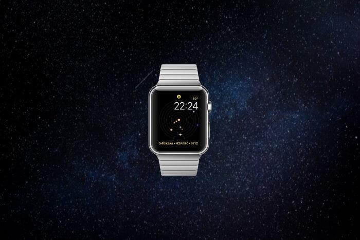 Csillagászat Számlap Apple watch