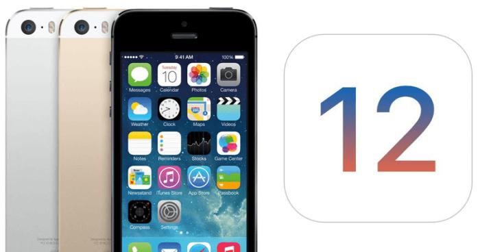 iOS 12 és iPhone 5s sebességteszt