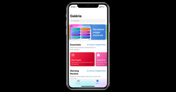 iOS 12 Parancsok