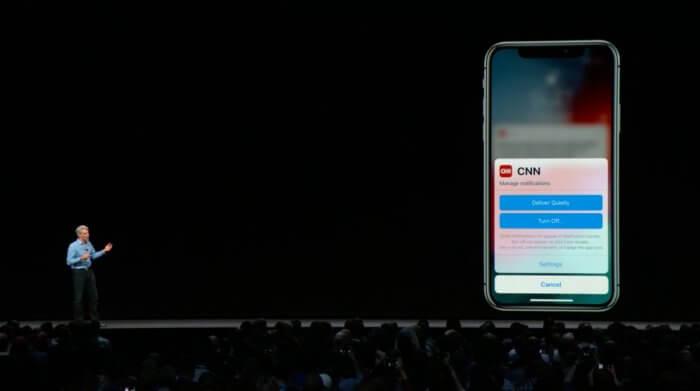 iOS 12 ertesitesek es ertesito kozpont
