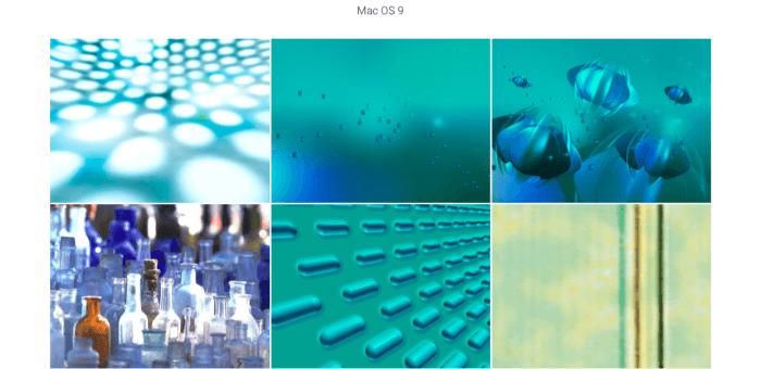 macOS 9 háttérképek