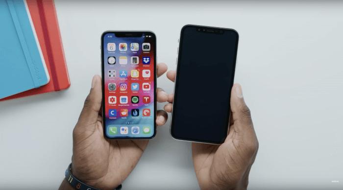 iPhone 9 es iPhone X Plus