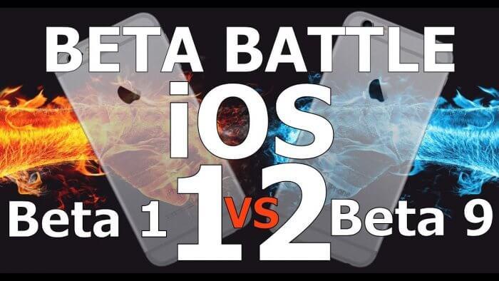 iOS 12 béta