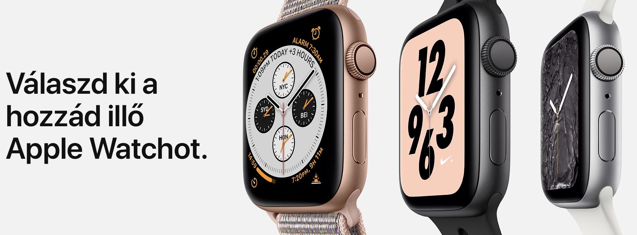 Az Apple bemutatta az Apple Watch Series 4-et – árak 727618ed0d